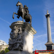 Nelson Column: London — Stock Photo