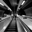 Underground: London - Stock Photo