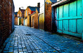 Cobbled Alley — Foto Stock