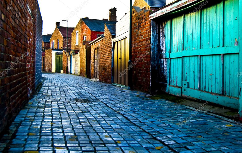 Cobbled Alley — Stock Photo #2823797