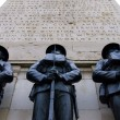 Stock Photo: World war 1 memorial: london 2