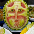 Melon art — Stock Photo