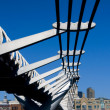 Millennium Bridge: London 2 — Stock Photo