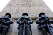 World war 1 memorial: london 2 — Stock Photo