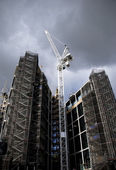 Construction in London — Stock Photo