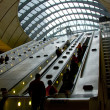 Canary Wharf Underground: London — Stock Photo