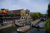 Camden Lock: London — Stock Photo