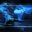 Global code background - Stock Photo