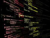 Digital program code — Stock Photo