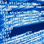 Web code — Stock Photo