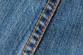 Jeans stitching — Stock Photo