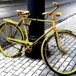 Yellow bicycle — Stock Photo #2819136