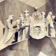 Sagrada Familia Temple details — Stock Photo