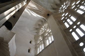 Sagrada familia interieur — Stockfoto