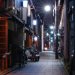 Stock Photo: Night in Kyoto