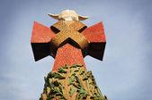 σταυρό του σαγράδα φαμίλια — Φωτογραφία Αρχείου