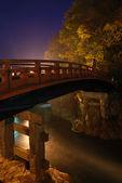 Japanese Bridge vertical — Stock Photo