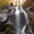 Autumnal waterfall — Stock Photo
