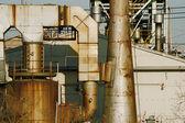 Rusty industrial — Stock Photo
