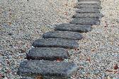 Stone way — Stock Photo