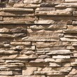 Artificial Stone Wall - Stock Photo