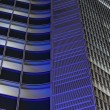 Night abstract architecture — Stock Photo