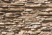Artificial Stone Wall — Stock Photo