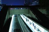 Night station — Stock Photo