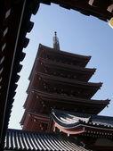 寺和屋顶 — 图库照片