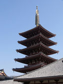 Asakusa temple — Stock Photo