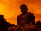 Giant Buddha statue — Stock Photo