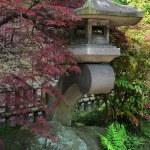 Japanese lantern — Stock Photo
