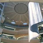 Futuristic atrium — Stock Photo