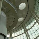 Modern futuristic interior elements — Stock Photo
