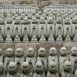 sculptures de jizo japonais — Photo