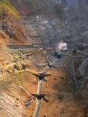 Mining area v — Стоковое фото