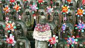 Japanese sculptures — Stock Photo
