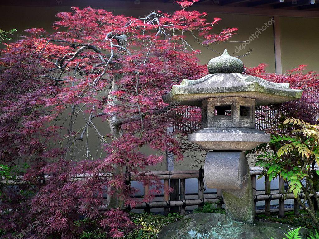 Jardin japonais photographie yurizap 3144949 for Lanterne jardin zen