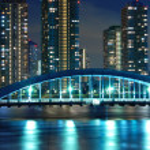 noc Tokio — Zdjęcie stockowe #3193872
