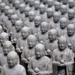 Japanese jizo sculptures — Foto de Stock