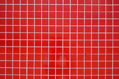 Red ceramic tile — Stock Photo
