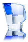 Clear water filter pitcher — Стоковое фото