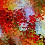 Rainbow Hearts Background Texture — Stock Photo