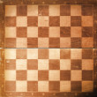 Old chess board texture - Stock Photo