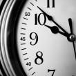 Stock Photo: Wall clock Closeup