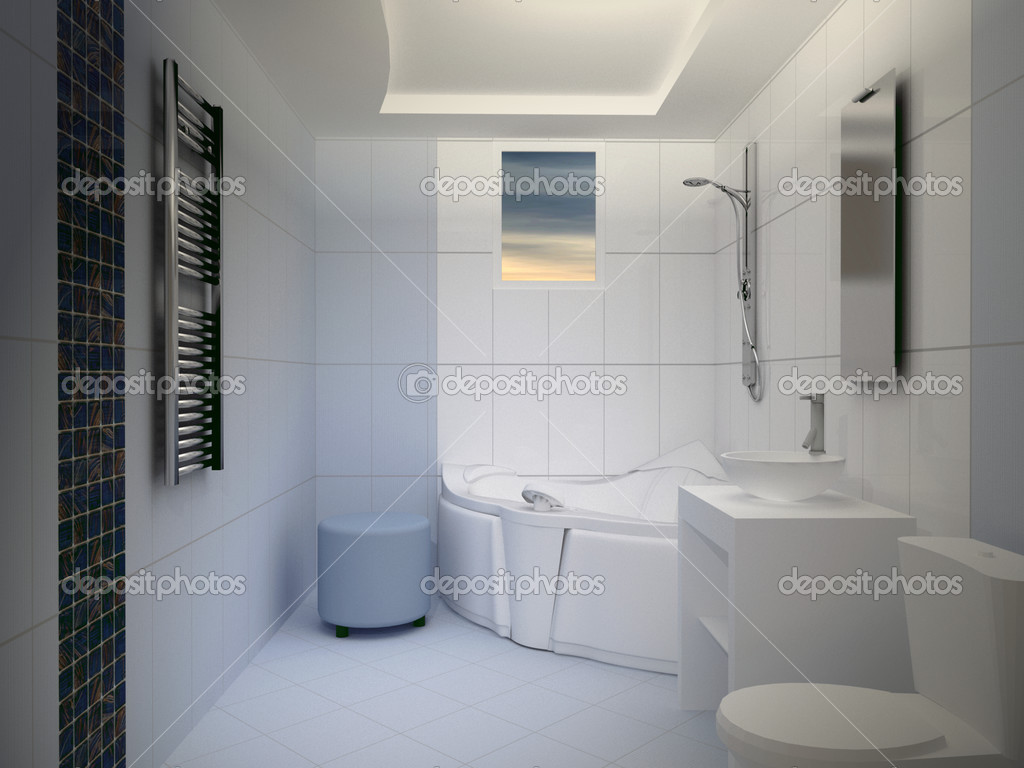 Modern Bathroom Interior  — Stock Photo #2853015