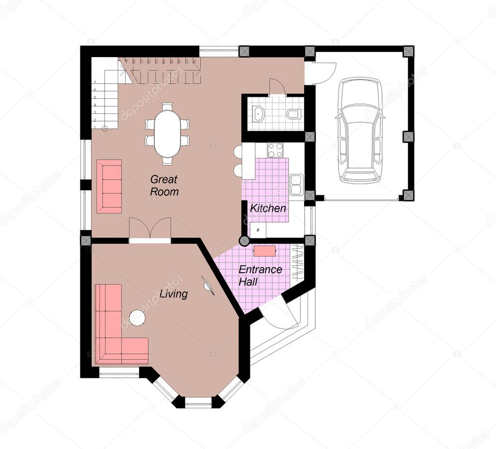 Free House Plan Drawing Downloads: OrthoGraph Survey by OrthoGraph