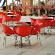 Public modern cafe interior — Stock Photo