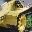 Royalty-Free Stock Photo: Closeup caterpillar vehicle