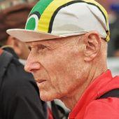 Man in a cap — Stock Photo